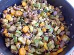 Poélée de légumes, courgettes, carottes, champignons ... : LoÏse dell'Acqua