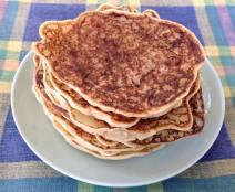 Pancakes végé : LoÏse dell'Acqua