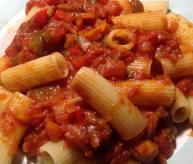 Pâtes sauce tomate végé maison