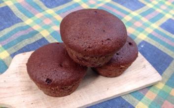 Muffins végé chocolat : LoÏse dell'Acqua