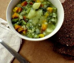 Soupe de pommes de terre façon McDougall : Fit Malvi