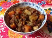 Lentilles, pommes de terre, carottes : LoÏse dell'Acqua
